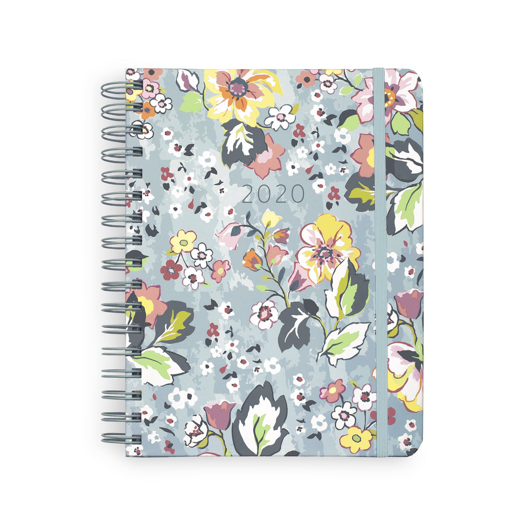 2020-2021 Vera Bradley 17 Month Large Planner, Floating Garden