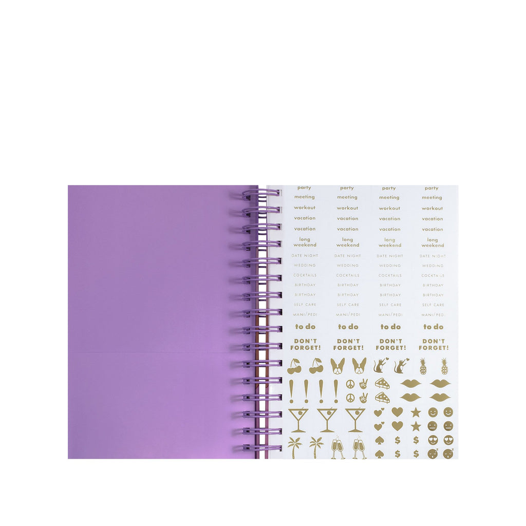 2020-2021 kate spade new york 17 month large planner, scallop