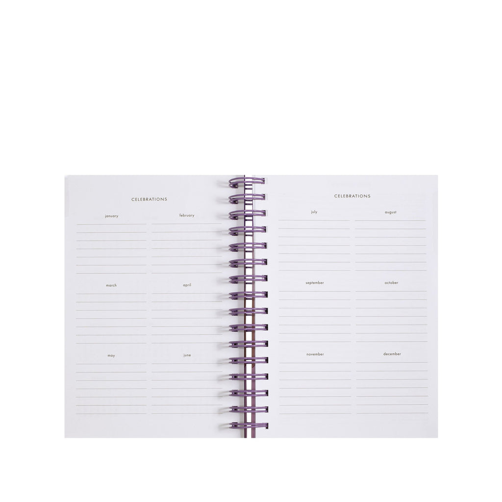 2020-2021 kate spade new york 17 month planner medium, scallop