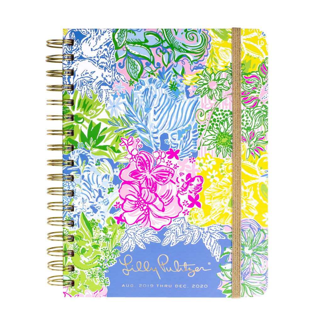 Lilly Pulitzer 17 Month Large Agenda, Cheek To Cheek