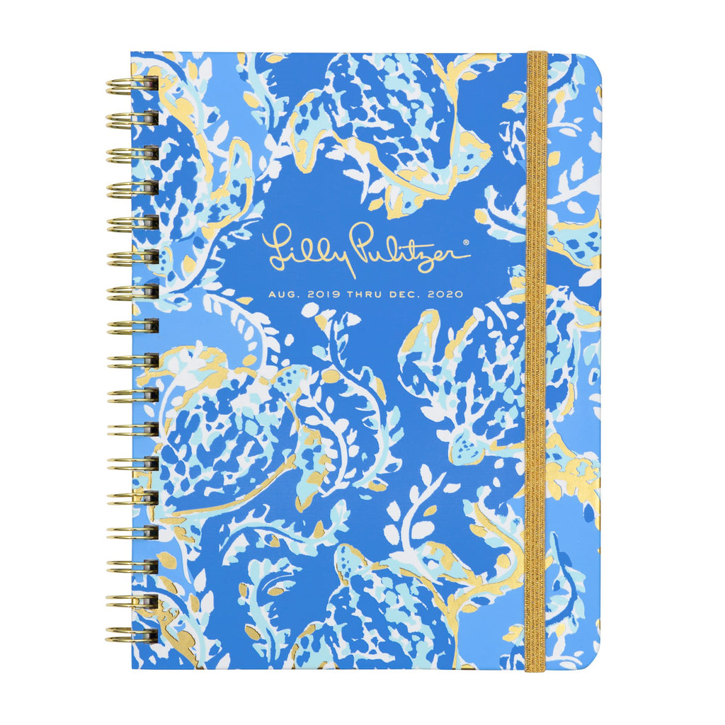 Lilly Pulitzer 17 Month Monthly Planner, Turtley Awesome