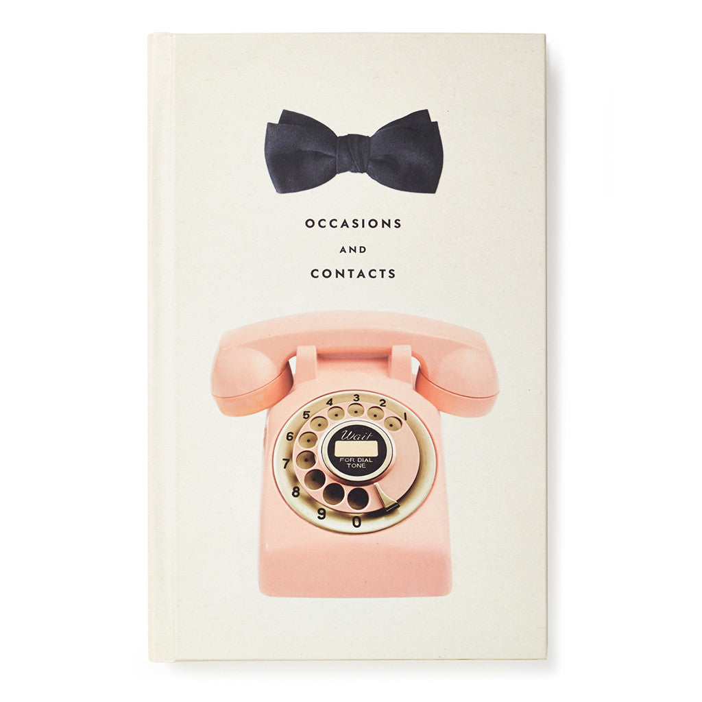 kate spade new york address book - occasions and contacts - lifeguard-press