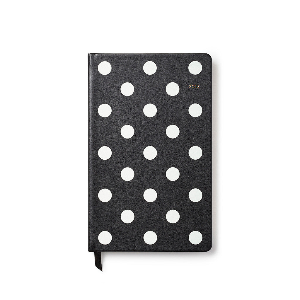 kate spade new york 2017 pencil it in 12-month agenda - deco dot - lifeguard-press - 1