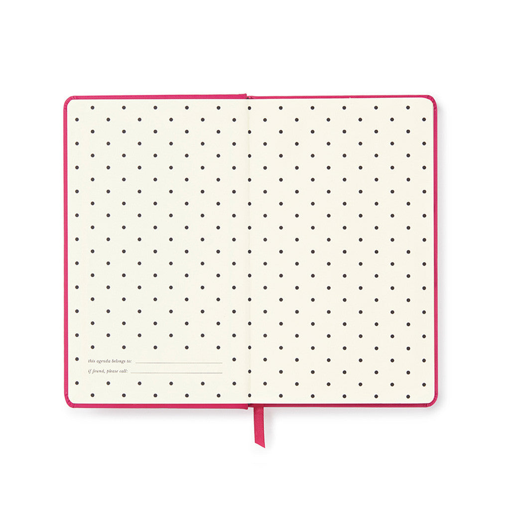 kate spade new york 2017 pencil it in 12-month agenda - pink diary - lifeguard-press - 2