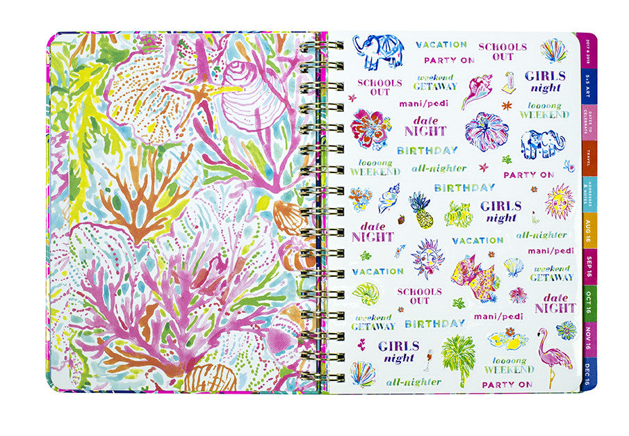 Lilly Pulitzer Monthly Planner - Exotic Garden - lifeguard-press - 2