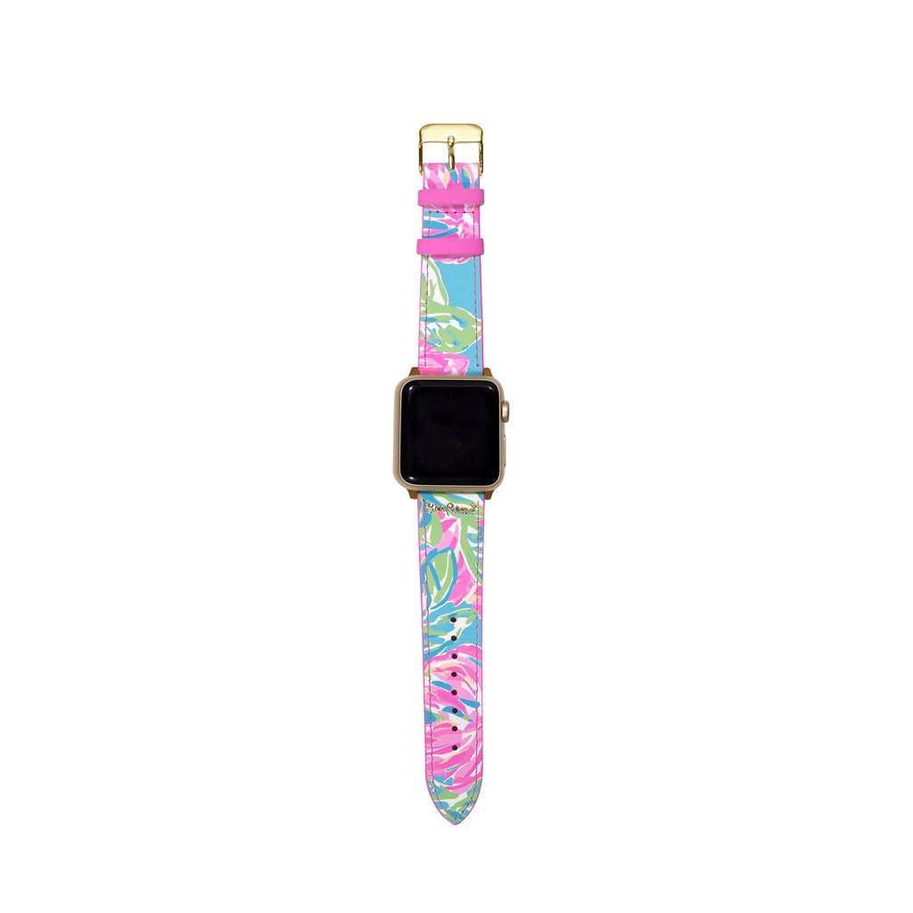 Lilly Pullitzer Apple Watch Band, Totally Blossom