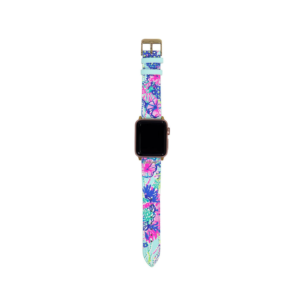 Lilly Pulitzer Apple Watch Band, Beach You To It