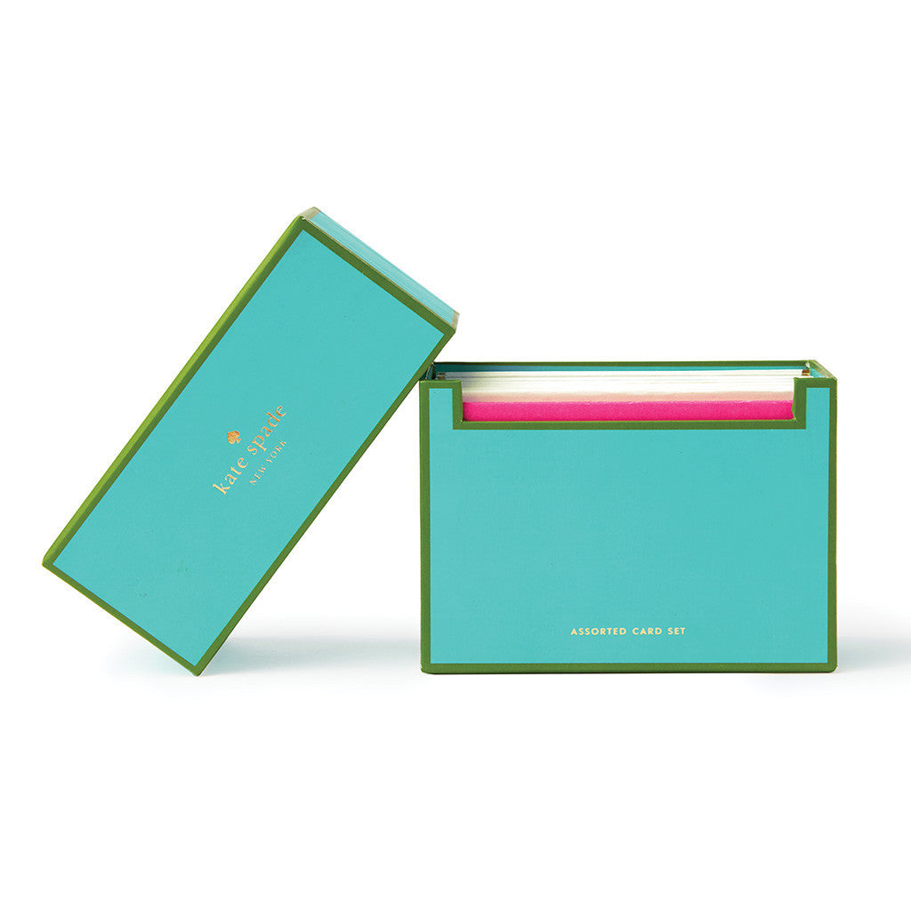 kate spade new york larabee dot assorted notecard set - lifeguard-press - 1