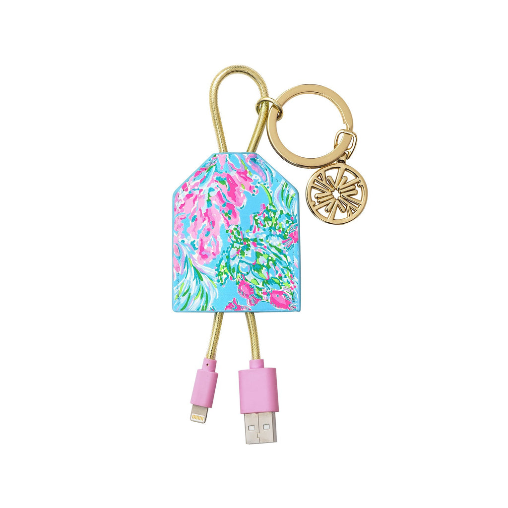 Lilly Pulitzer Charging Tag, Best Fishes