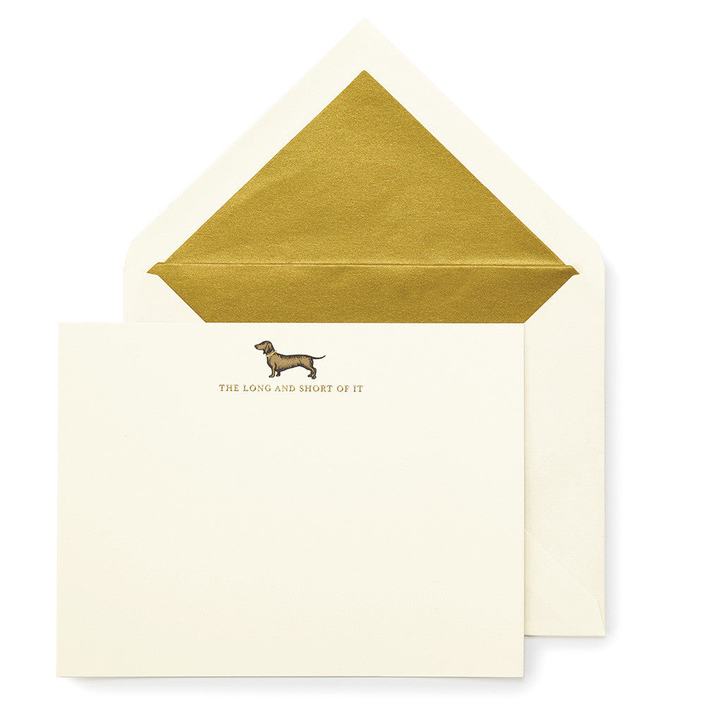 kate spade new york long and short of it notecard set