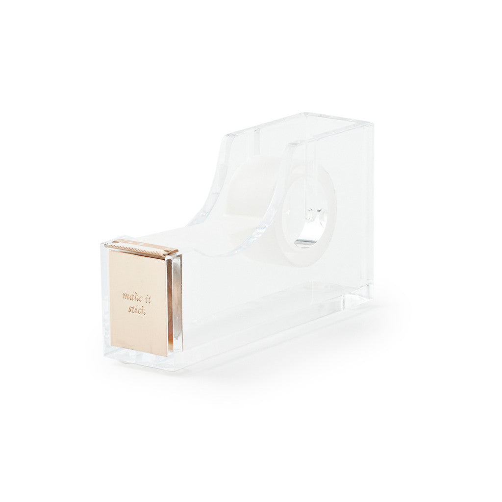 kate spade new york strike gold tape dispenser - make it stick - lifeguard-press