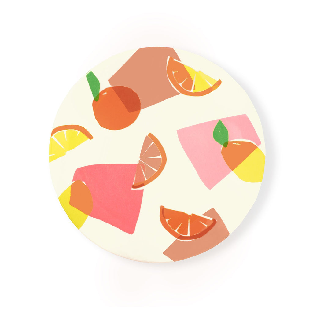 kate spade new york-spade dinner plate, citrus celebration