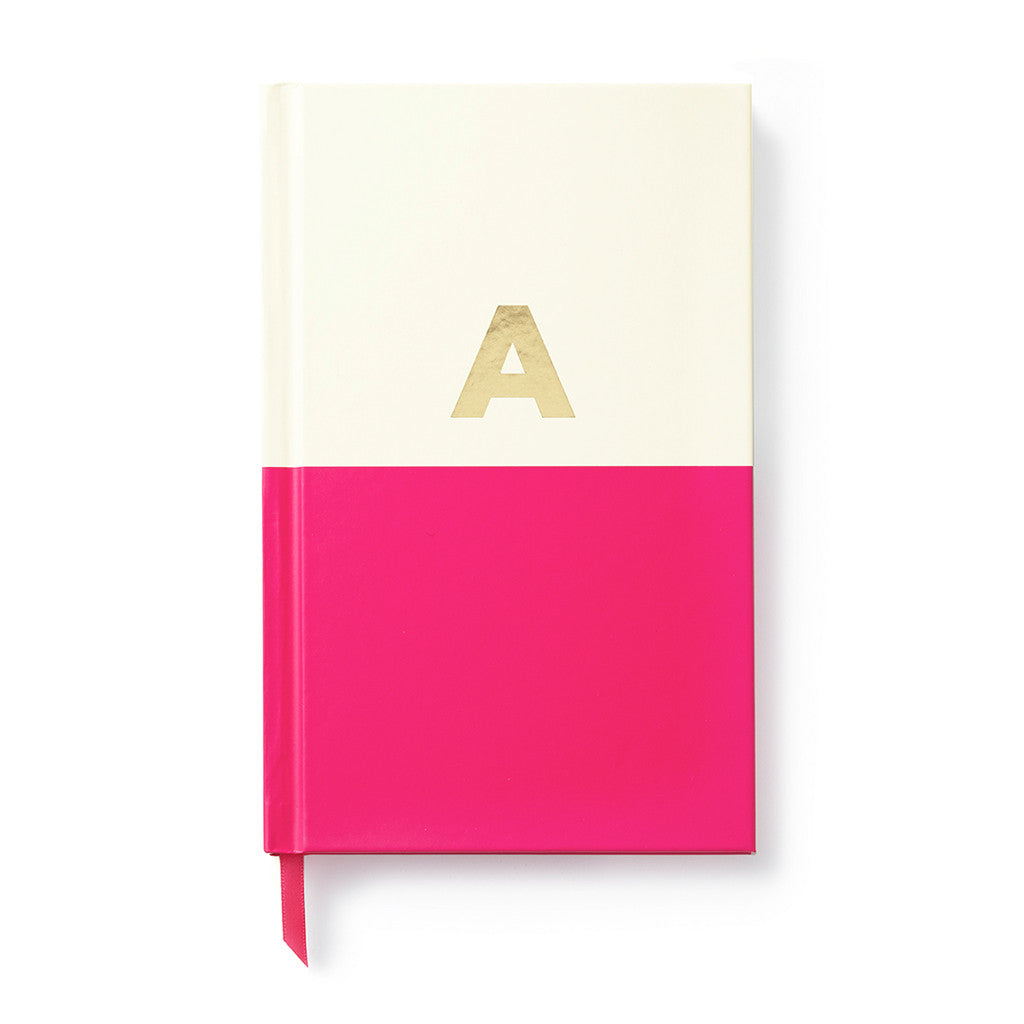 kate spade new york dipped initial notebook - A - lifeguard-press