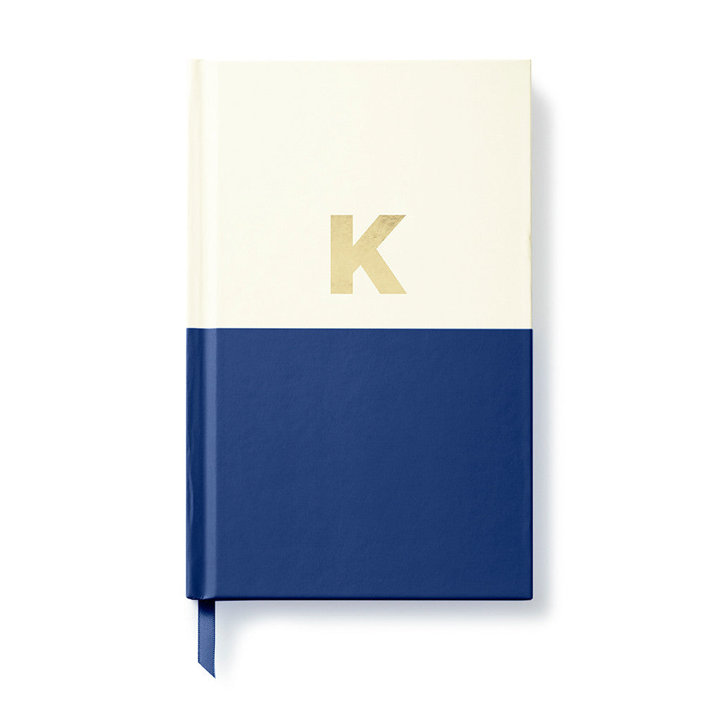 kate spade new york dipped initial notebook - K - lifeguard-press