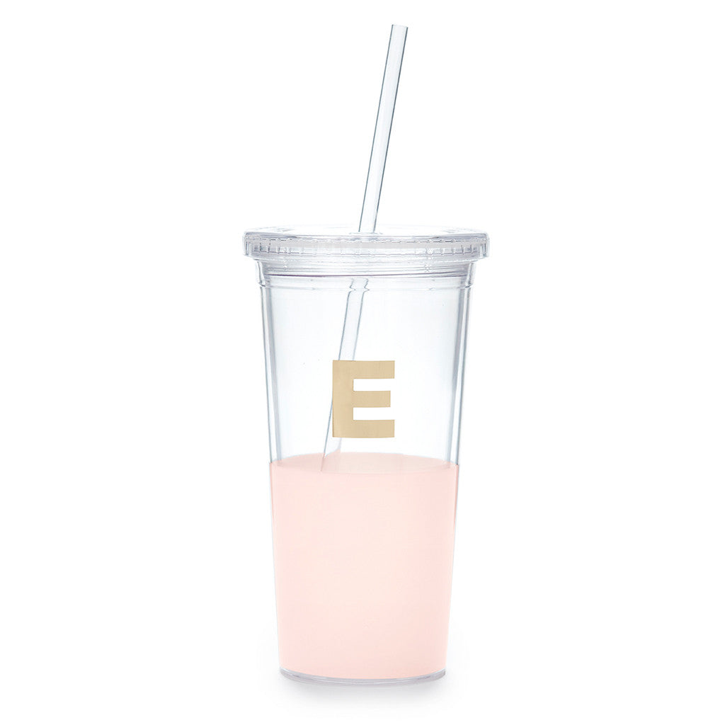 kate spade new york dipped initial insulated tumbler  - E - lifeguard-press