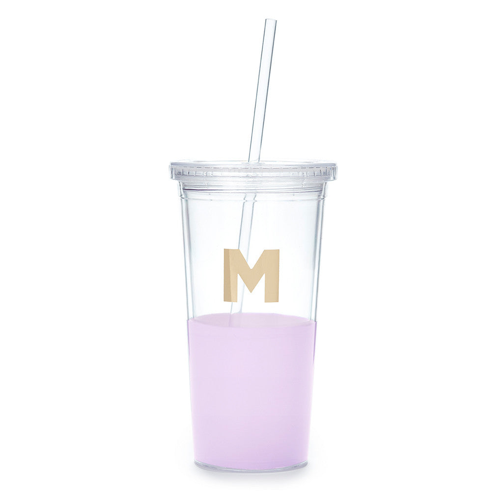 kate spade new york dipped initial insulated tumbler  - M - lifeguard-press