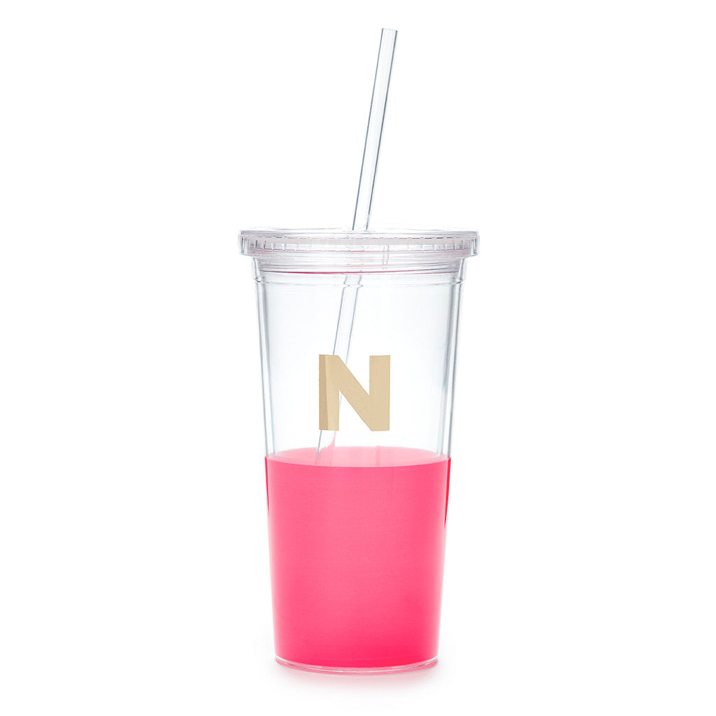 kate spade new york dipped initial insulated tumbler  - N - lifeguard-press