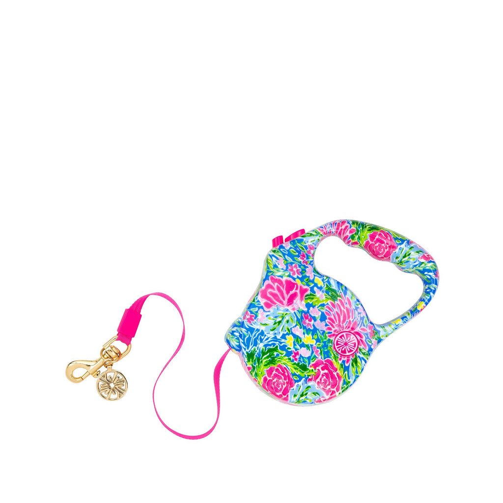 Lilly Pulitzer Dog Lead, Bunny Business