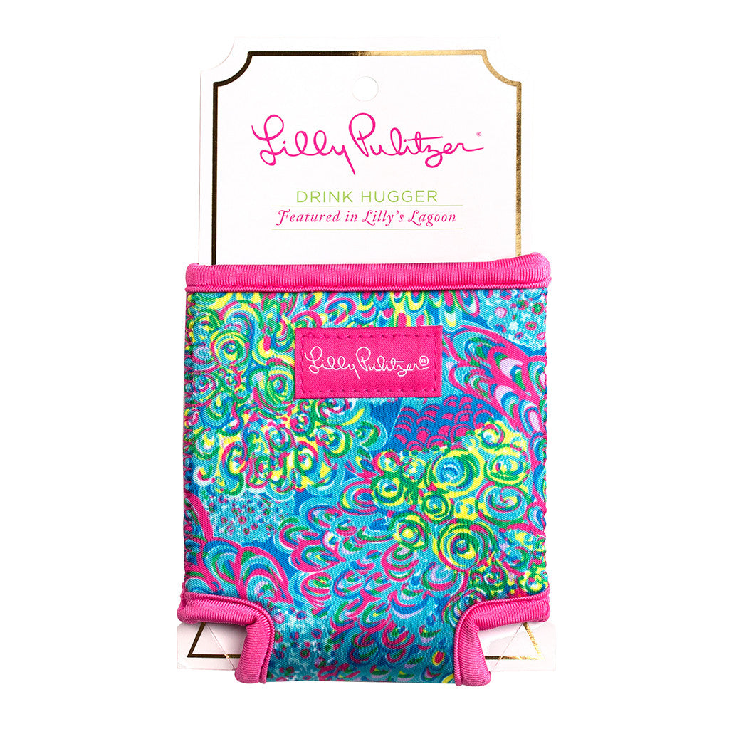 Lilly Pulitzer Beverage Hugger - Lilly's Lagoon - lifeguard-press - 1