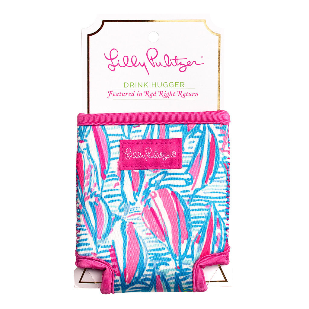Lilly Pulitzer Beverage Hugger - Red Right Return - lifeguard-press - 1