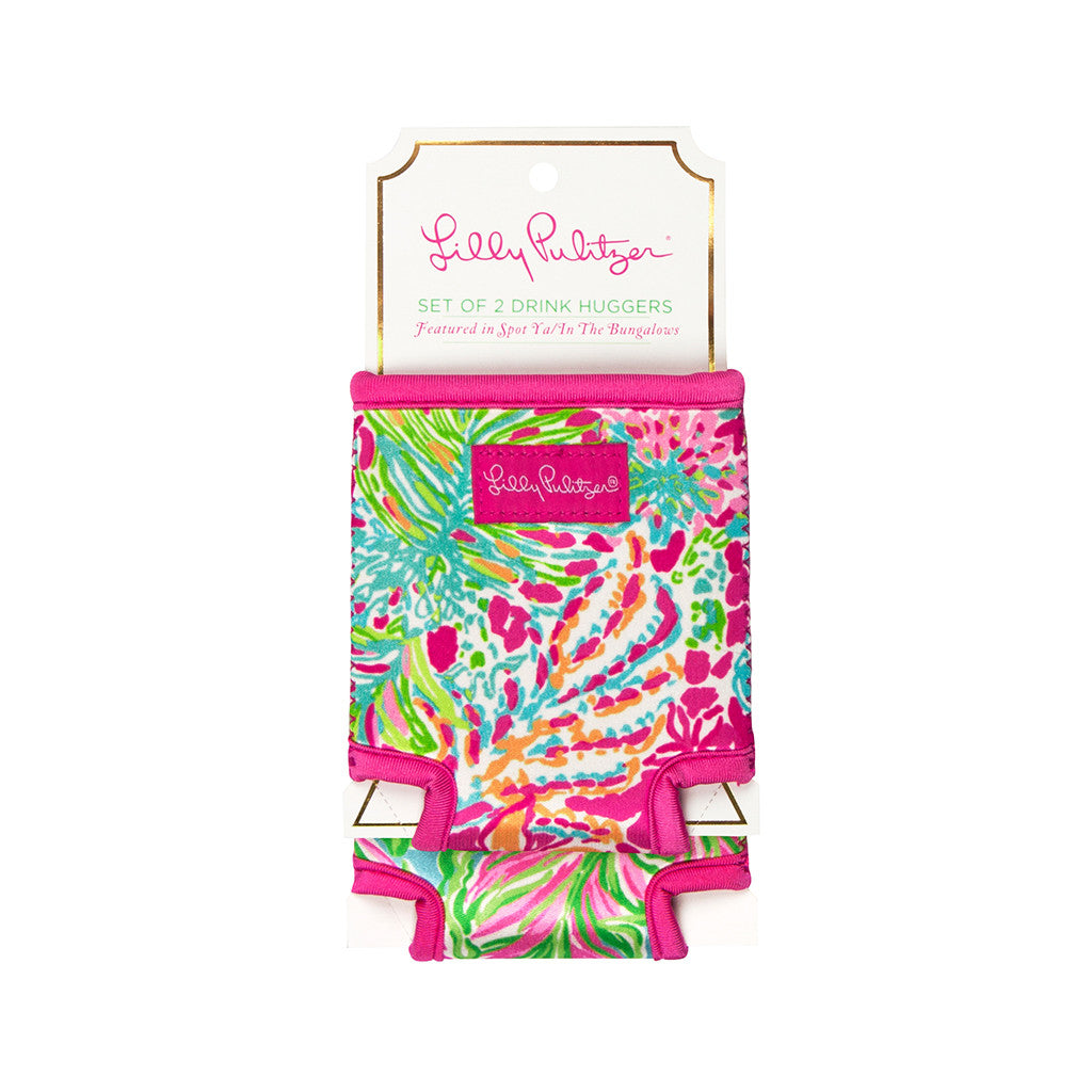 Lilly Pulitzer Drink Hugger Set - Spot Ya/Bungalow - lifeguard-press