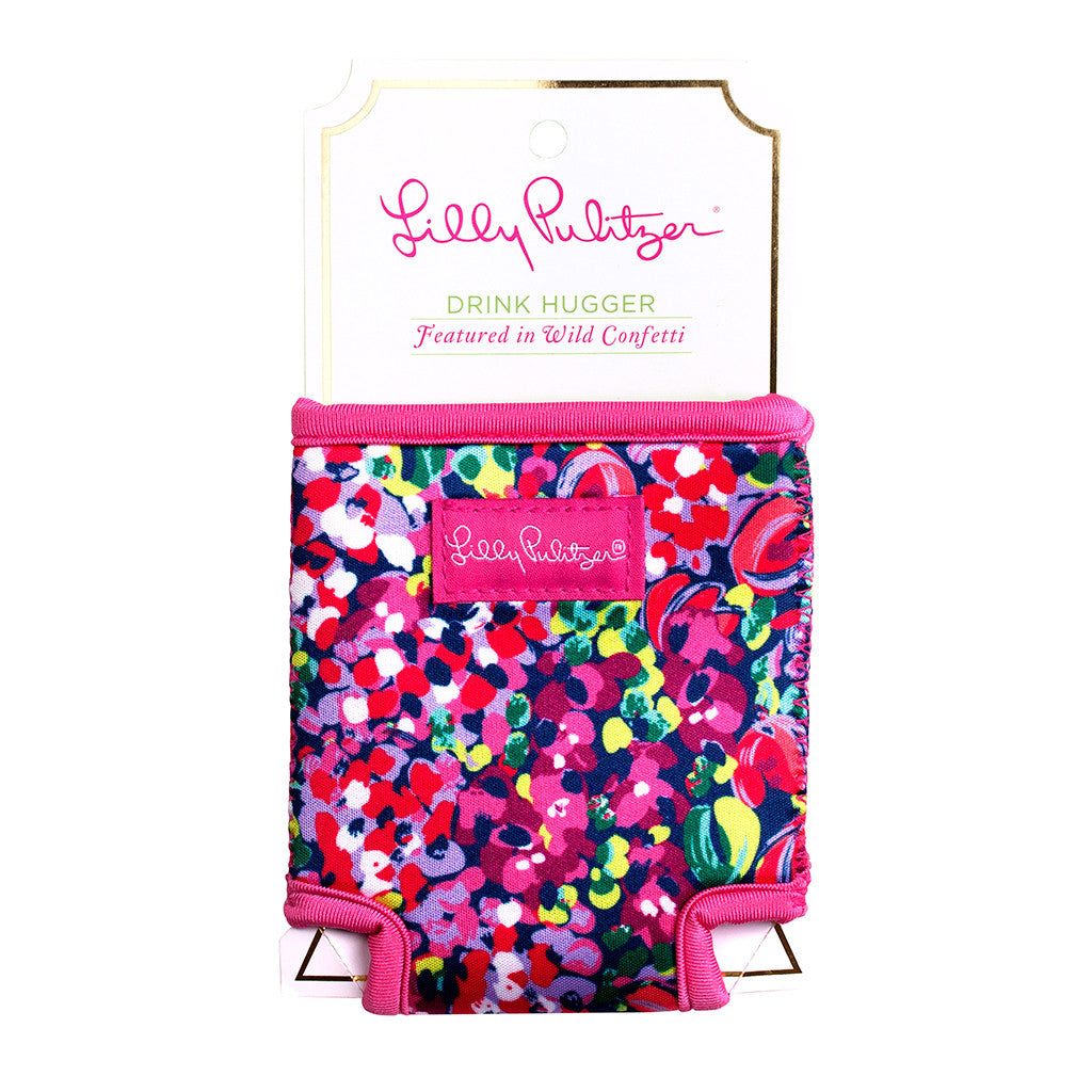 Lilly Pulitzer Beverage Hugger - Wild Confetti - lifeguard-press - 1