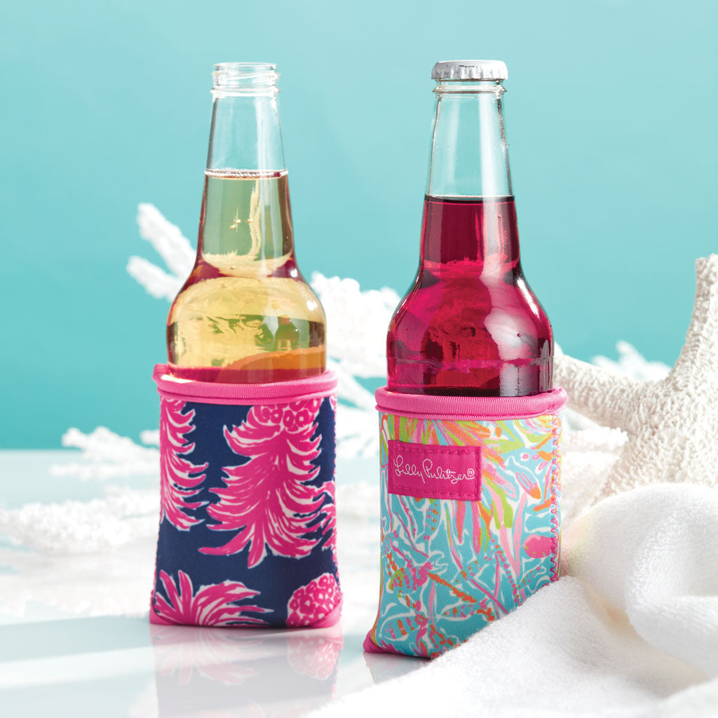 Lilly Pulitzer Beverage Hugger - Lilly's Lagoon - lifeguard-press - 2