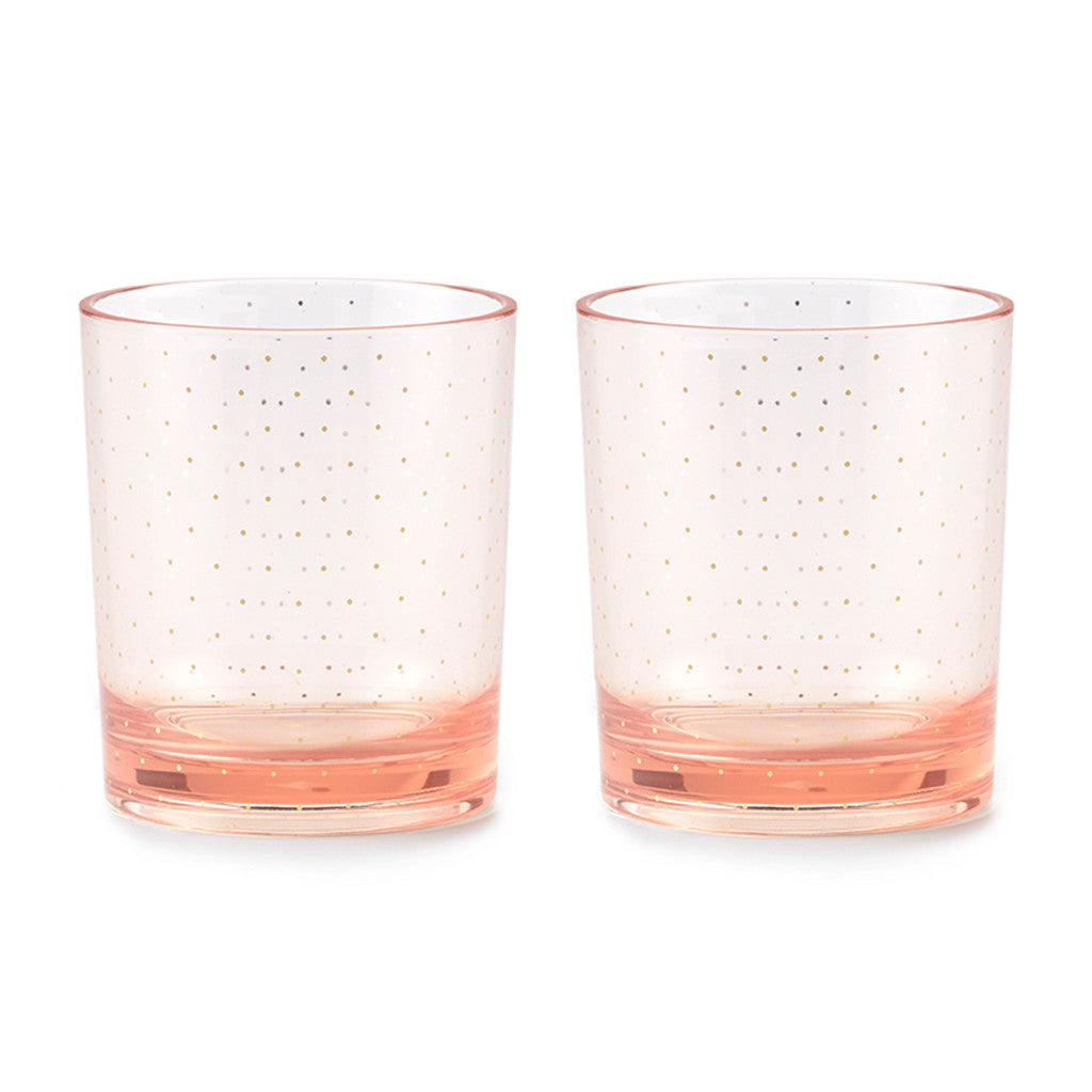 kate spade new york acrylic drinkware set - blushing - lifeguard-press
