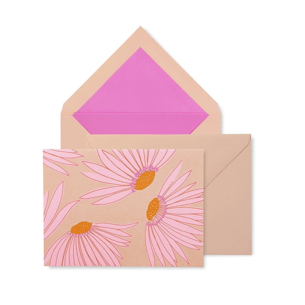 kate spade new york notecard set, falling flower