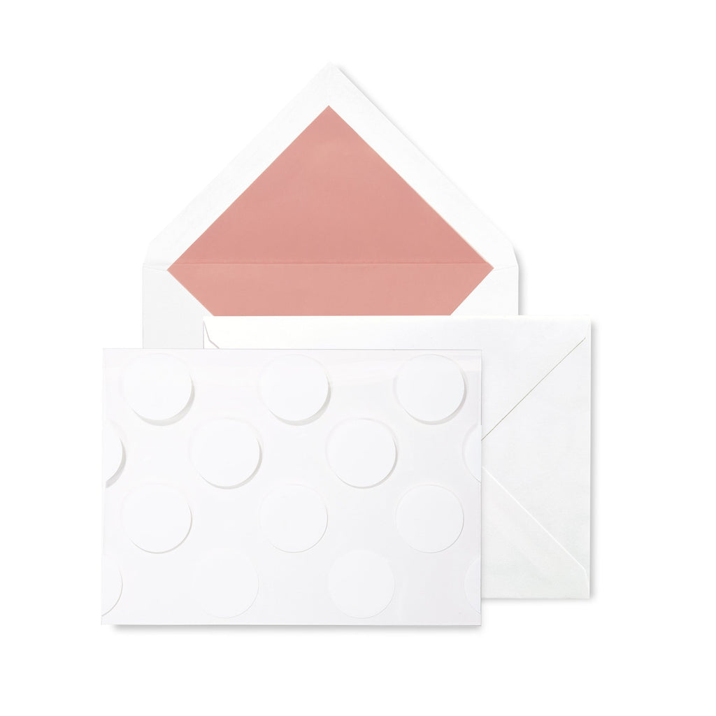 kate spade new york foldover card set, jumbo dot