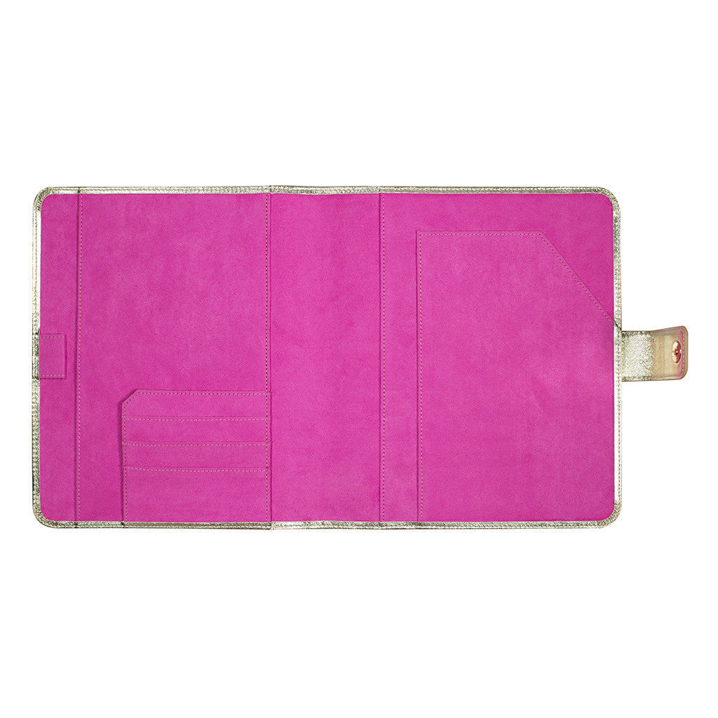 Lilly Pulitzer Agenda Folio - Gold - lifeguard-press - 2