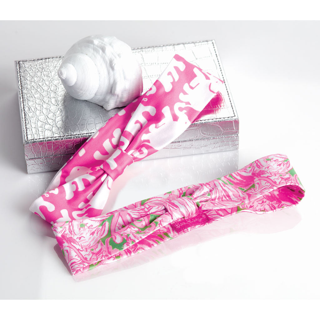 Lilly Pulitzer Headband - Pink Colony - lifeguard-press - 2