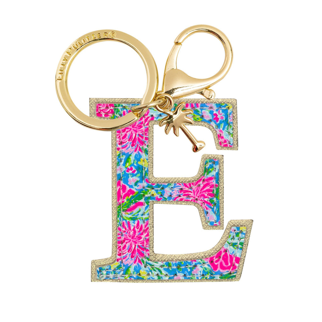 Lilly Pulitzer Initial Keychain, E