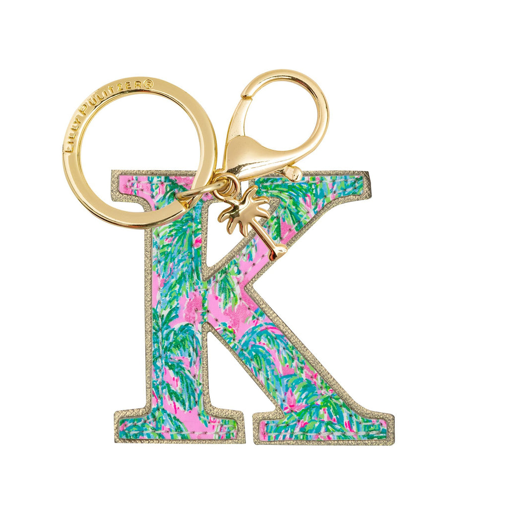 Lilly Pulitzer Initial Keychain, K