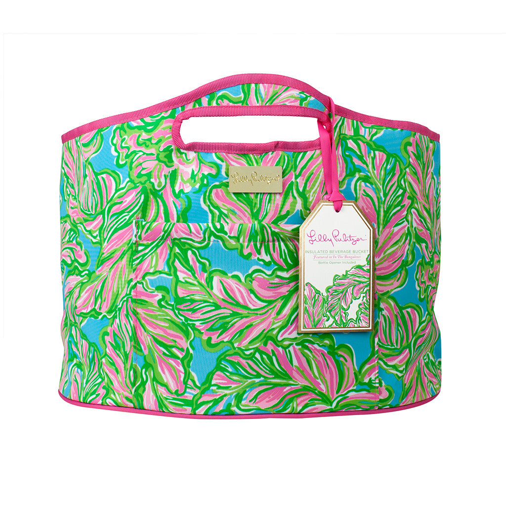 Lilly Pulitzer Oversized Insulated Beverage Bucket - In the Bungalows - lifeguard-press - 1