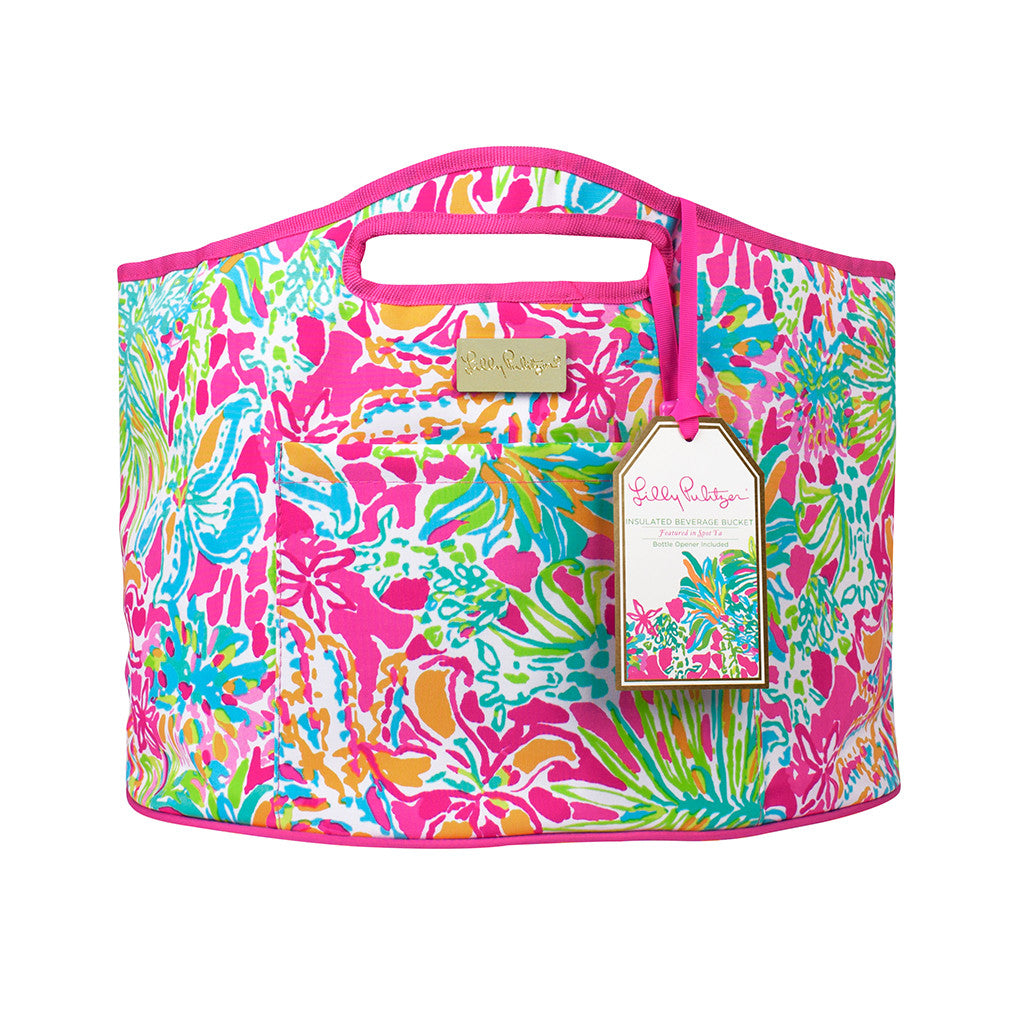 Lilly Pulitzer Oversized Insulated Beverage Bucket - Spot Ya - lifeguard-press - 1