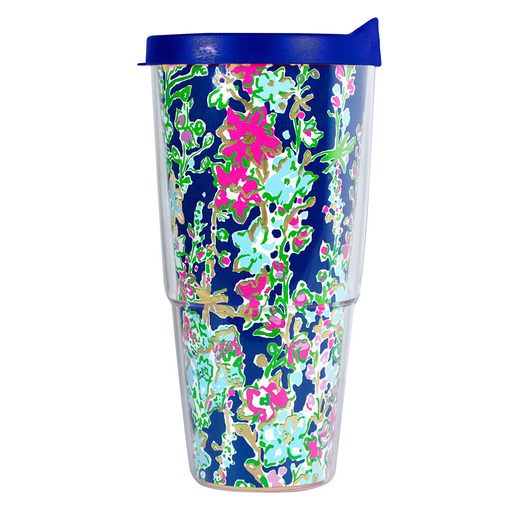 Lilly Pulitzer Double-Walled Tumbler - Southern Charm - lifeguard-press - 1