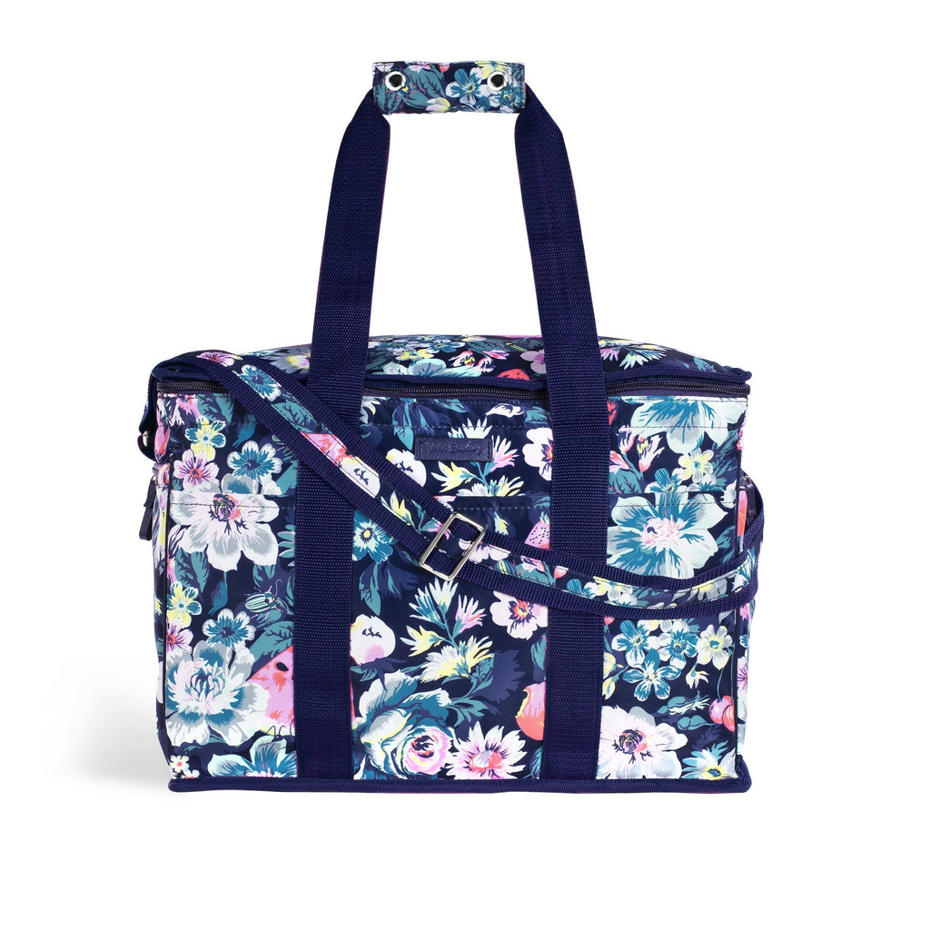 vera bradley insulated cooler, fruit grove