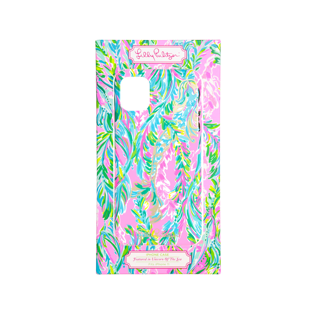 Lilly Pulitzer Iphone case 11 - TPU, Unicorn Of The Sea