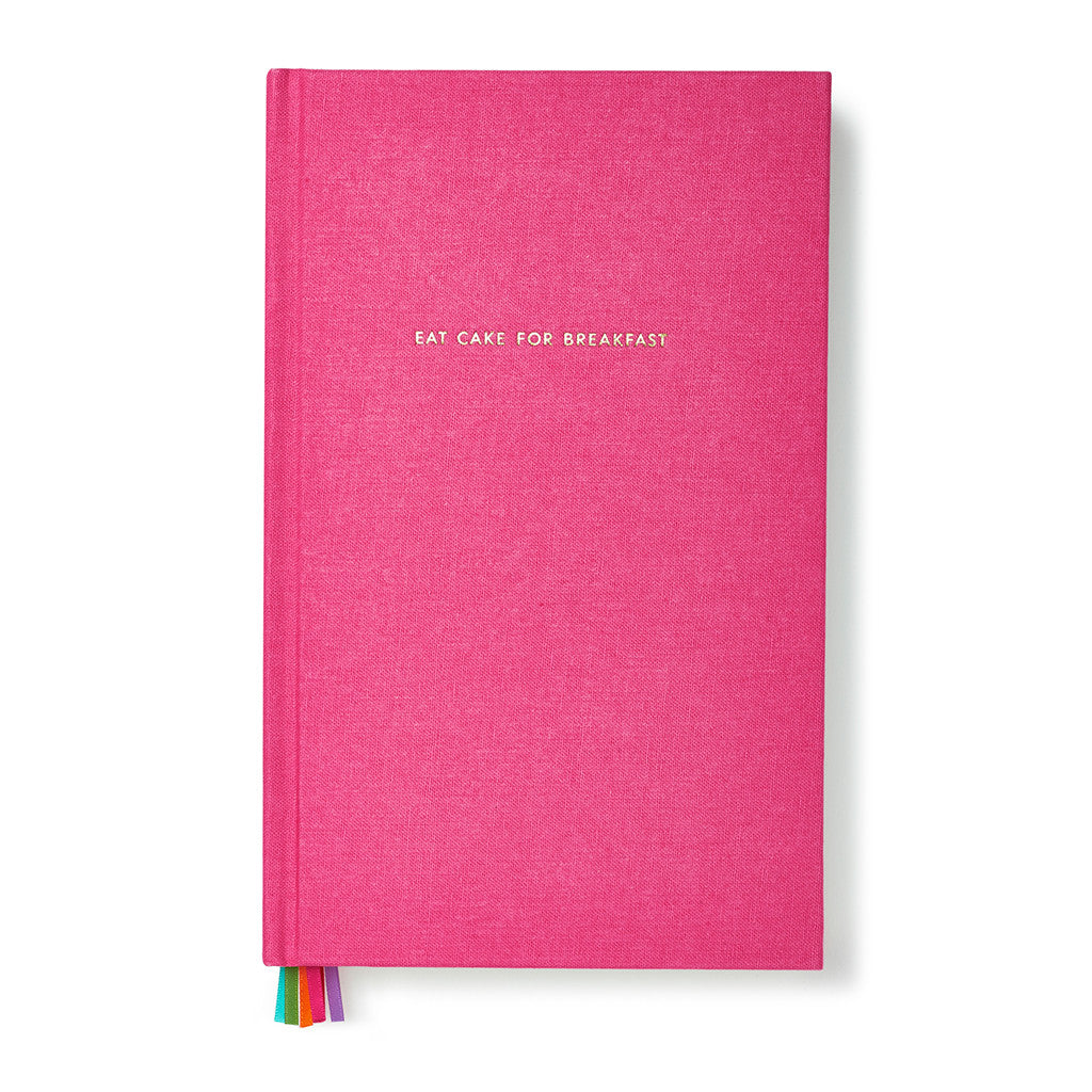 kate spade new york word to the wise journal - eat cake for breakfast - lifeguard-press