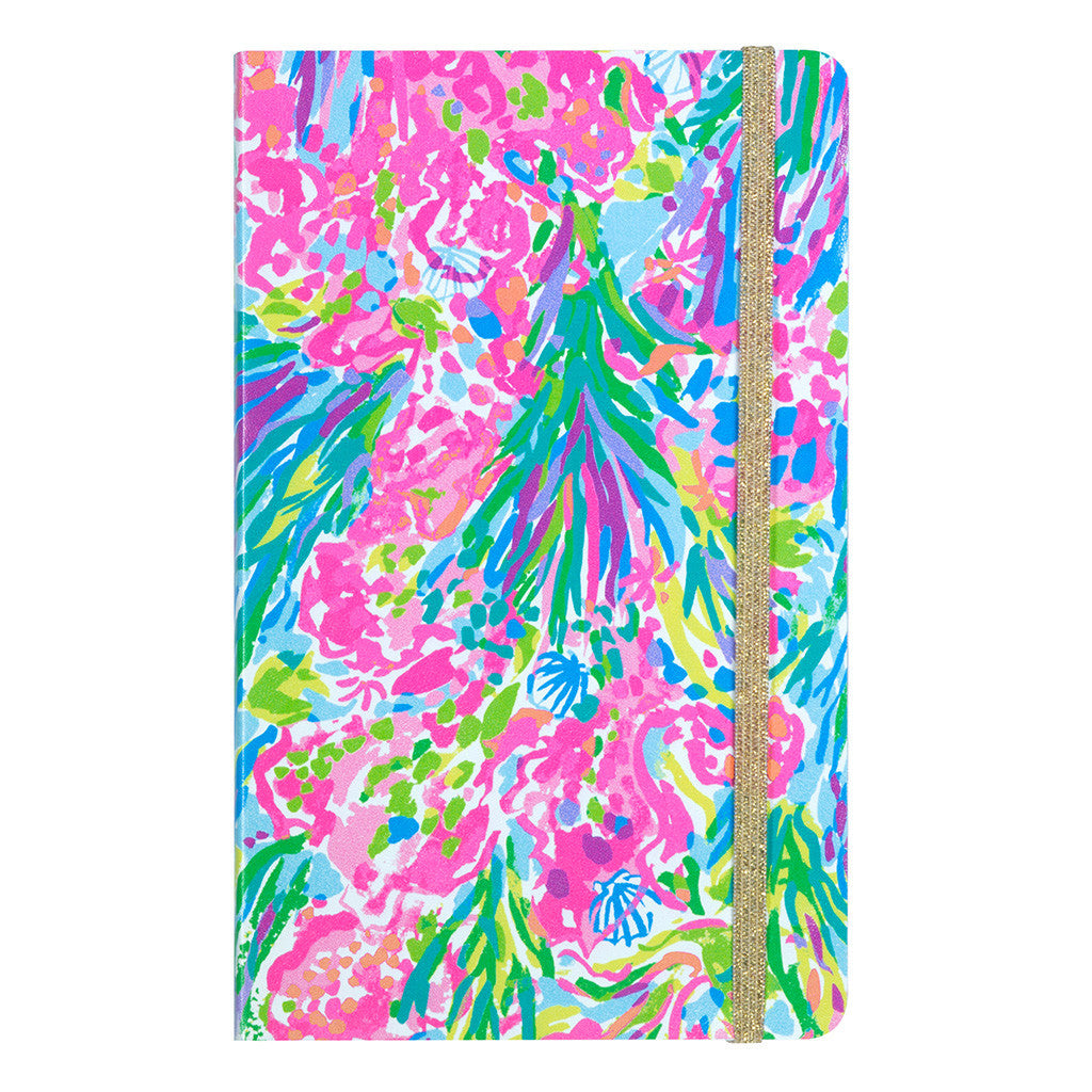 Lilly Pulitzer Journal, Fan Sea Pants