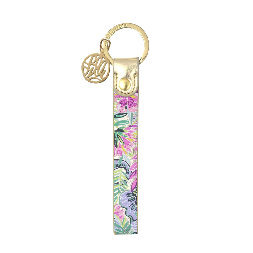 Lilly Pulitzer Strap Keyfob, Slathouse soiree
