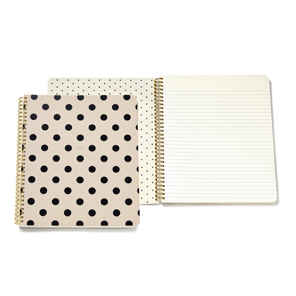 kate spade new york large spiral notebook - so well composed - lifeguard-press