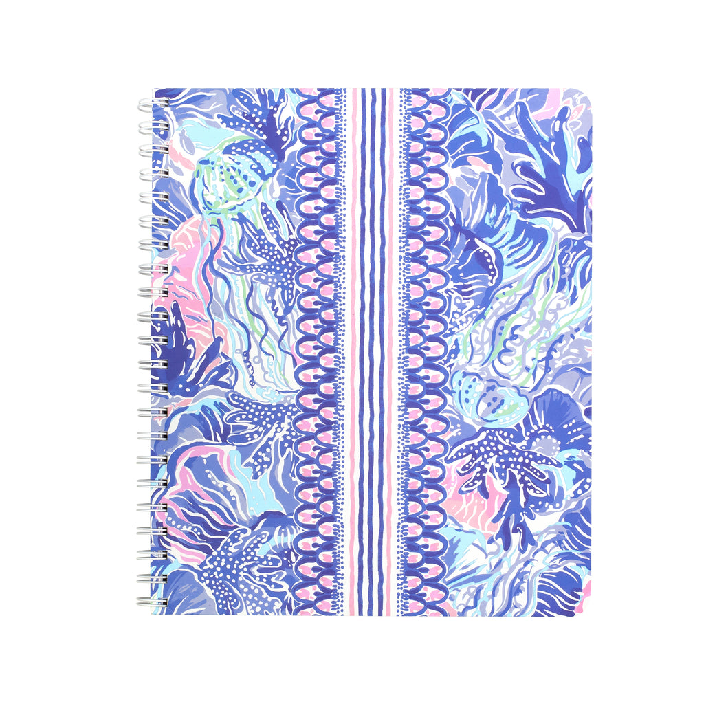 Lilly Pulitzer Large Notebook, Shade Seekers
