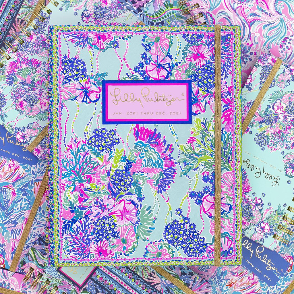 Lilly Pulitzer Weekly To Do Undated Planner, Beach You To It
