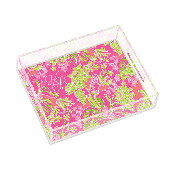 Lilly Pulitzer Personalized Small Tray - Luscious - lifeguard-press