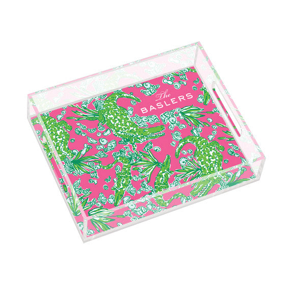 Lilly Pulitzer Personalized Small Tray - See You Later - lifeguard-press