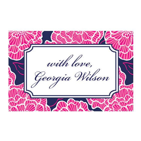 Lilly Pulitzer Personalized Stickers - Cloud Nine - lifeguard-press