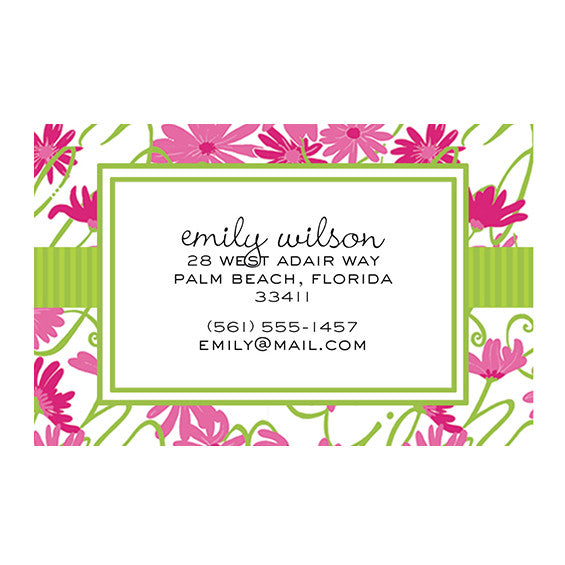 Lilly Pulitzer Personalized Stickers - Daisy Lilly - lifeguard-press