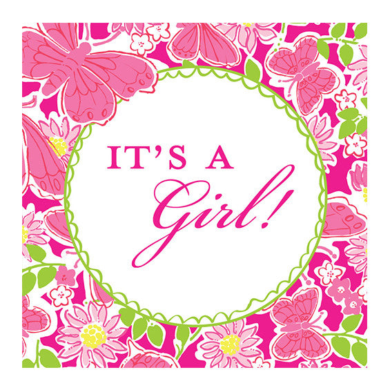 Lilly Pulitzer Personalized Stickers - Hidden Garden - lifeguard-press